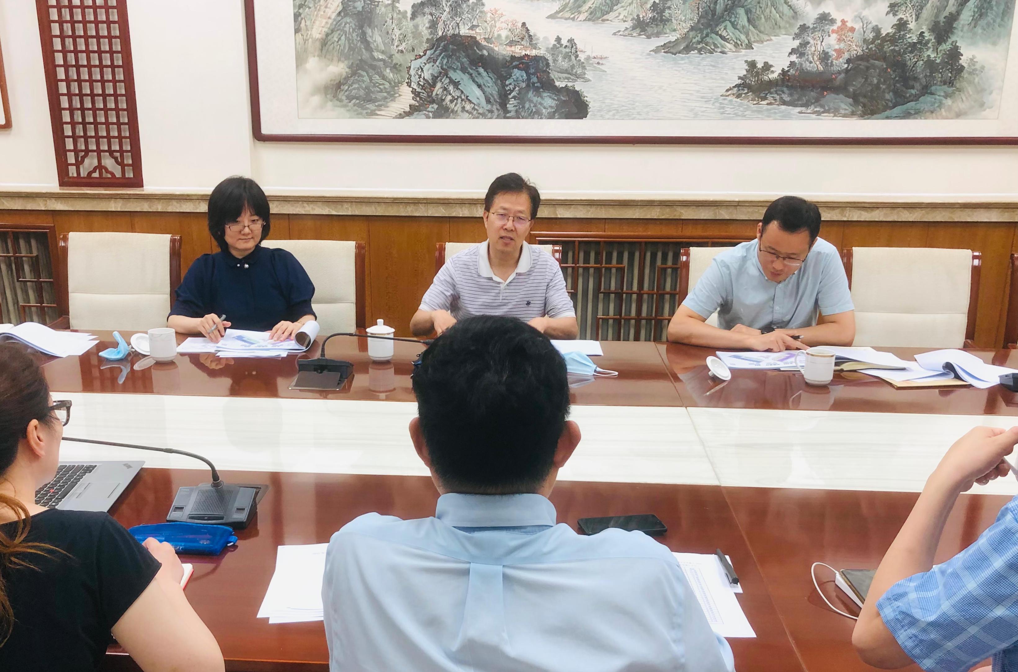 产业发展司研究推进2022年中国品牌日活动筹办工作